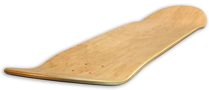 Blank Decks Warning Skateboard Deck