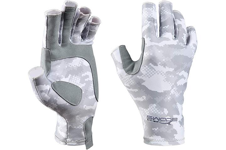 Booms Fishing Fingerless Fishing Gloves