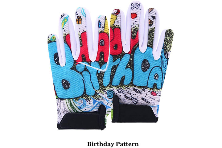 Boyiexin Kids Half-Finger Climbing Gloves
