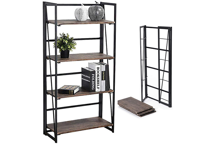 Coavas Folding bookshelf: