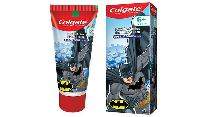 Colgate Anticavity Kids Batman Toothpaste