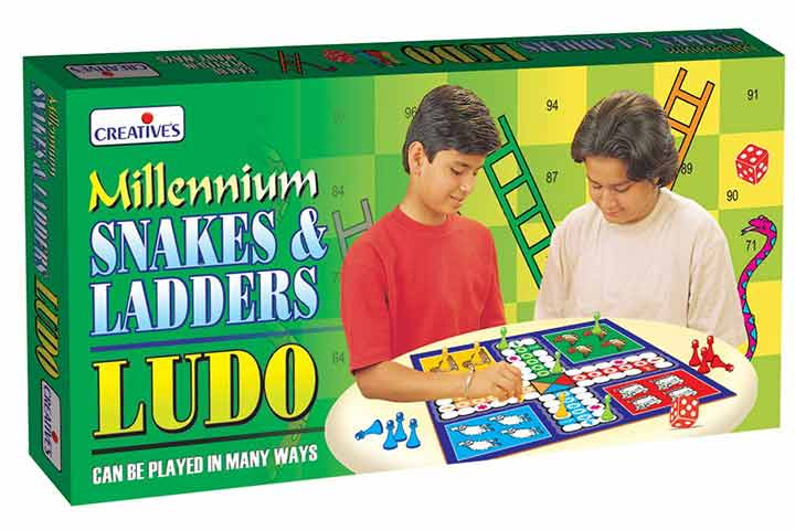 Creative's Millennium Snakes & Ladders and Ludo