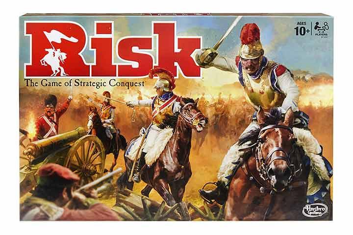 Hasbro Risk Strategy Board Game