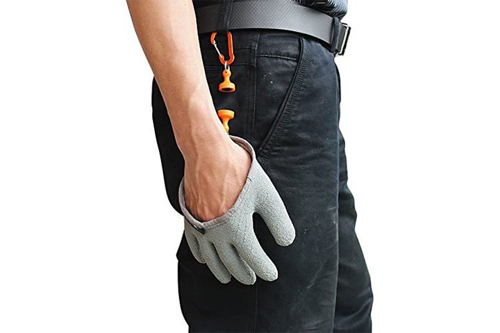 Inf-way Fishing Gloves With Magnetic