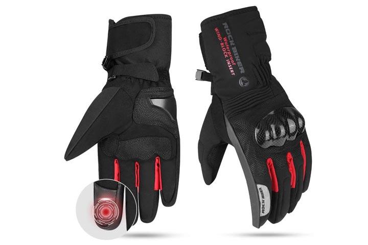 Issayauto Motorcycle Winter Gloves