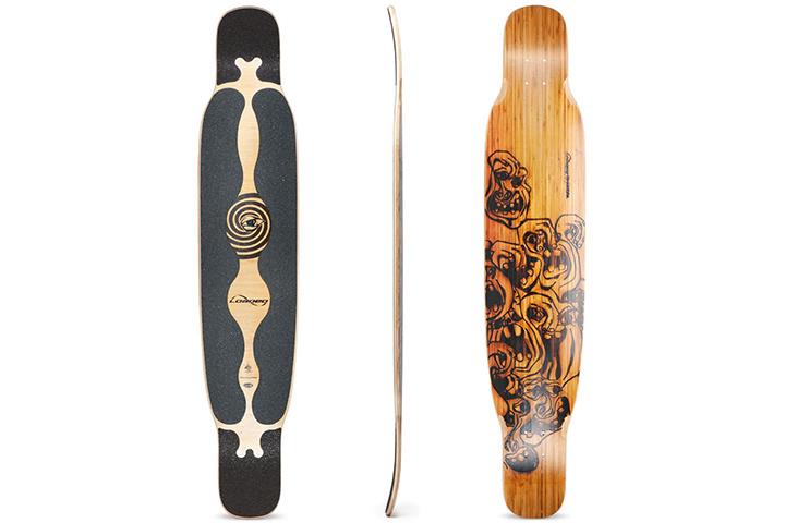 Loaded Boards Bhangra Bamboo Longboard Deck
