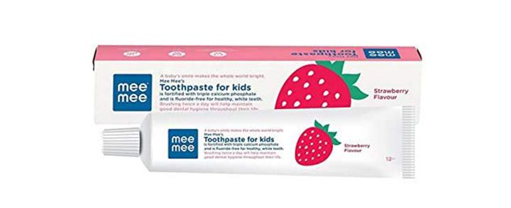 Mee Mee Fluoride-Free Toothpaste