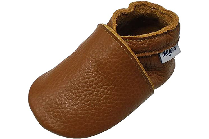 Mejale Leather Baby Moccasins