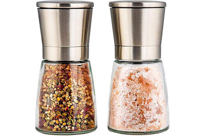 Modetro Premium Salt And Pepper Shakers