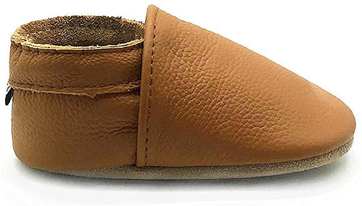 Owlowla Baby Soft Sole Leather Crib Shoes