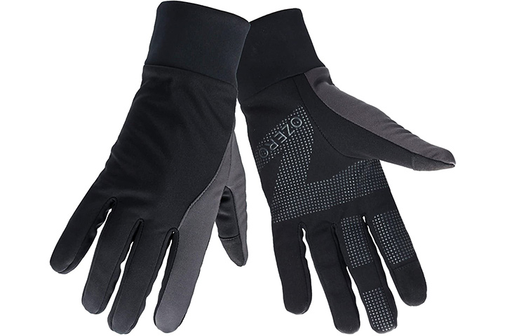 Ozero Windproof Hiking Gloves For Women