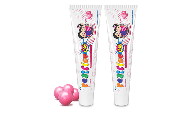 Pediflor Kidz Toothpaste -Bubble Gum Flavor