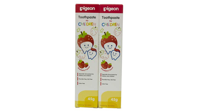 Pigeon Strawberry Toothpaste
