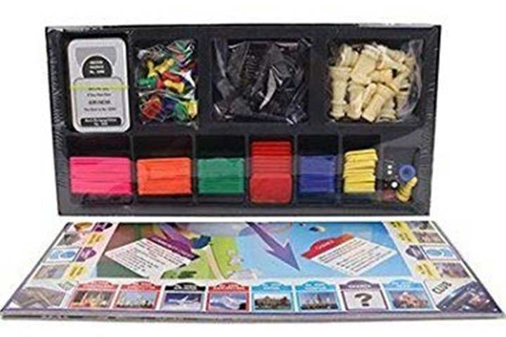 Ratna's 2 in 1 Class Chess and Business Board Game