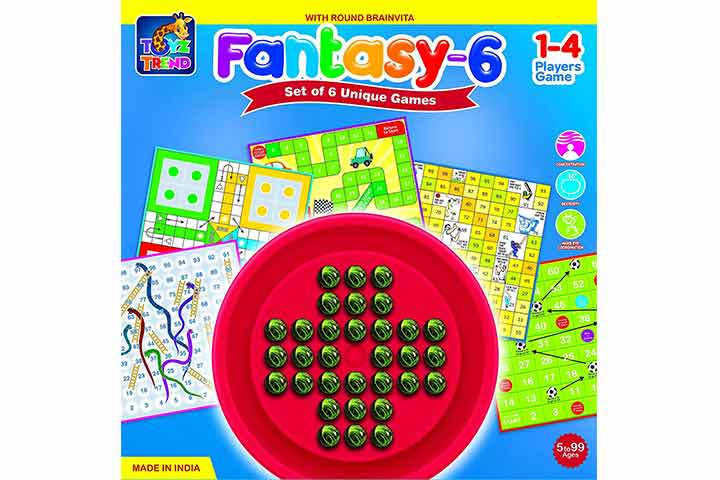 Ratna's Toyztrend Fantasy-6 Game
