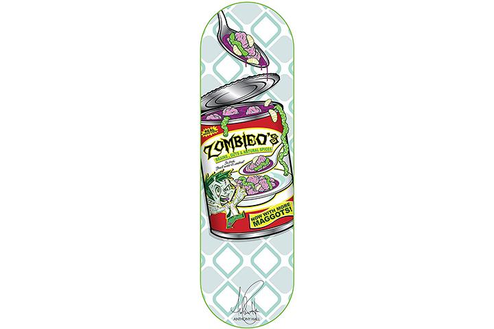 RudeBoyz 28 Inch Wooden Graphic Printed Display Skateboard Deck