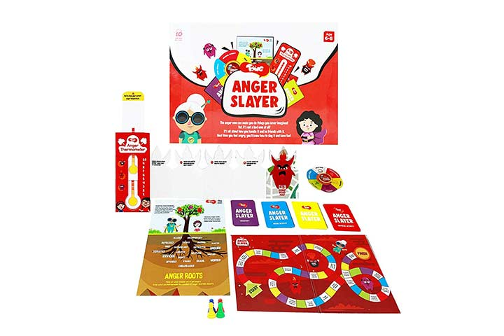 Toiing Anger Slayer Board Game Kit