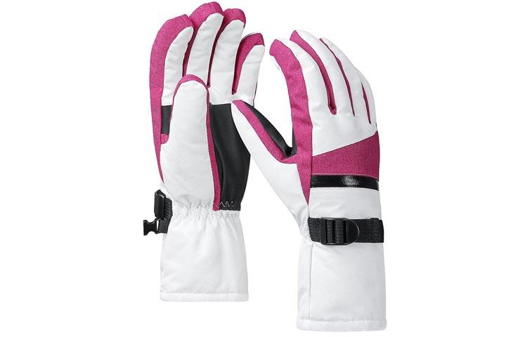 erra Hiker Winter Warm Ski Gloves