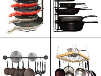 13 Best Pot Rack Organizers To Buy In 2021