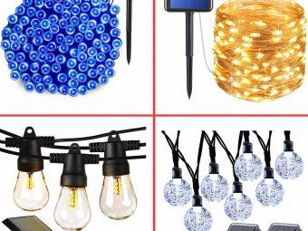 13 Best Solar String Lights To Buy In 2021