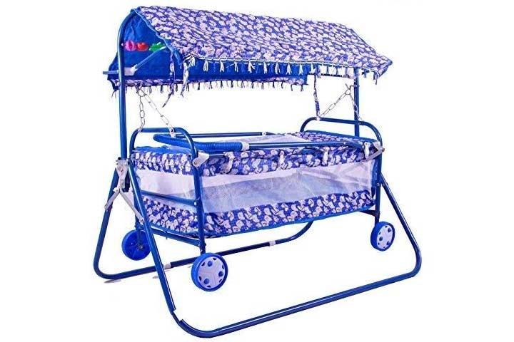 BabyGo Baby Cradle Cot and Stroller