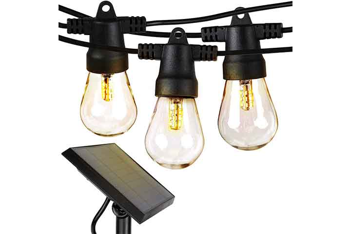 Brightech Ambience Pro - Solar Powered Outdoor String Lights