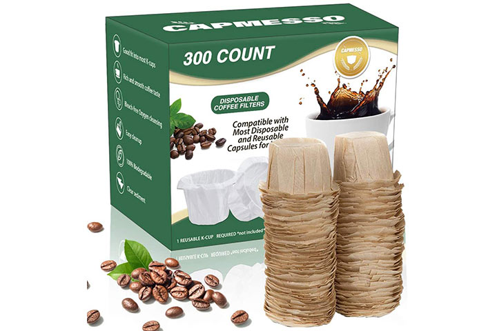 Capmesso Disposable Coffee Paper Filters
