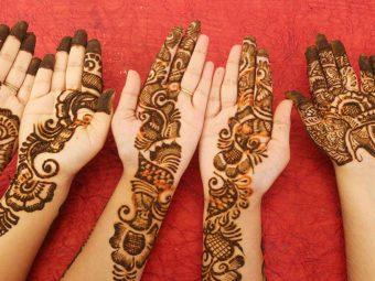 Easy And Trendy Mehendi Designs For Teej 2020