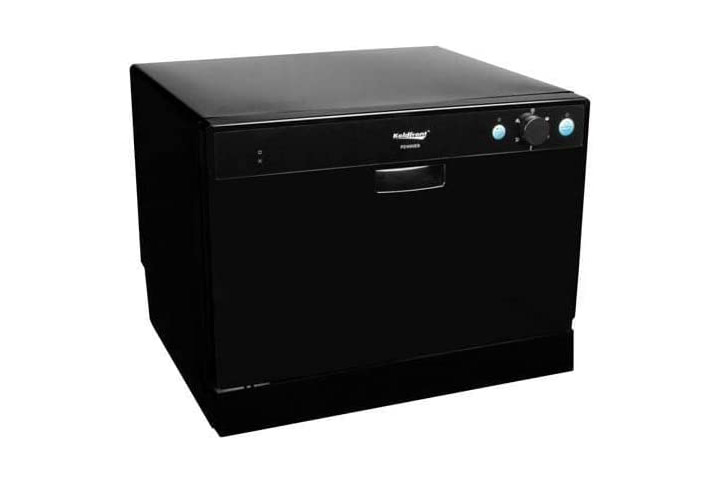 Koldfront 6 Place Setting Portable Countertop Dishwasher