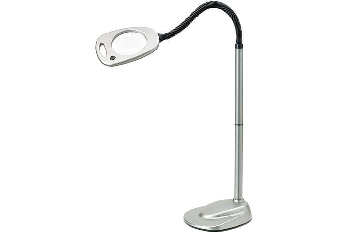 Light It! By Fulcrum Magnifying Floor Lamp