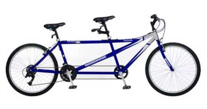 Mongoose Wanderer AL Tandem Bike