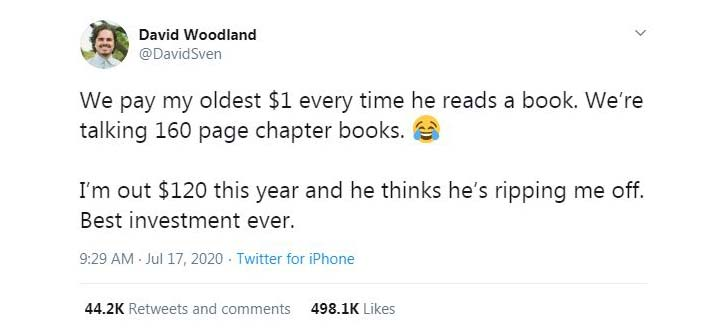 No matter how much you encourage your kids to read