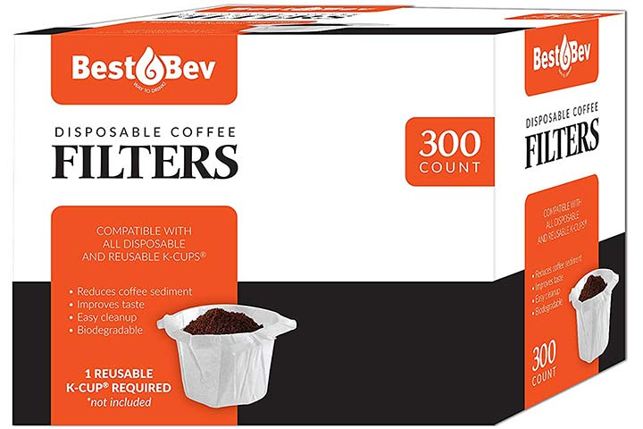 Party Bargains Disposable K-cup Coffee Paper Filters