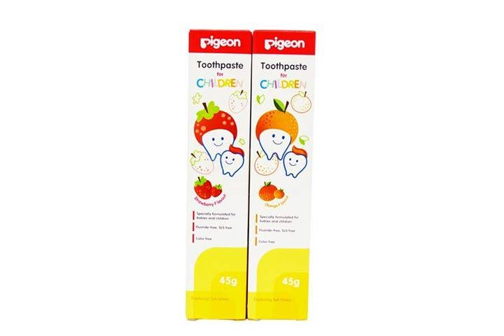 Pigeon Strawberry & Orange Toothpaste