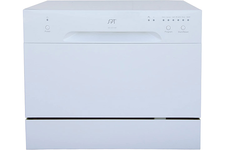 SPT Compact Countertop Dishwasher