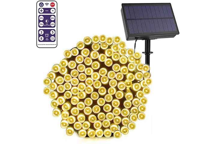 Solar Christmas Lights by SunnyOn store