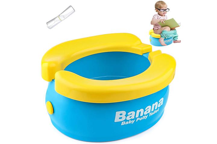 Tinabless Banana Travel Potty