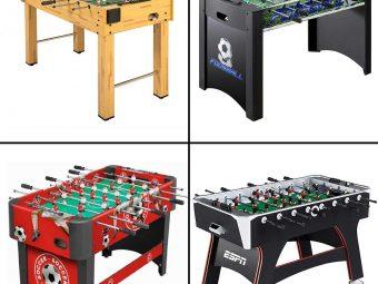13 Best Foosball Tables To Buy In 2021