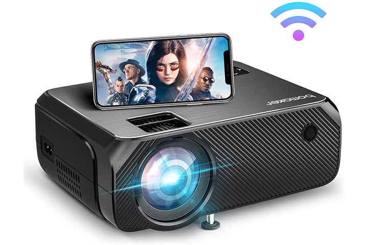 Bomaker Portable Projector