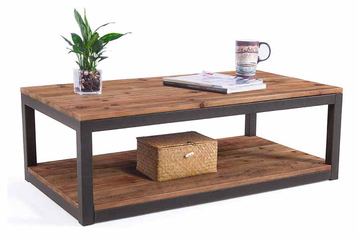 Care Royal Coffee Table With Storage Shelf