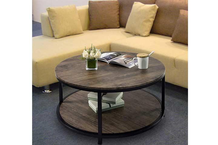 CharaHOME 2-Tier Coffee Table