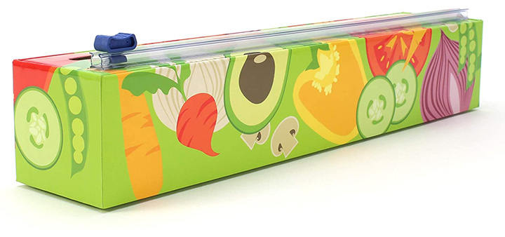 Chic Wrap Wrap Dispenser With Plastic Wrap