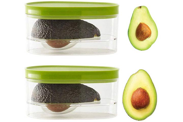 ENRECND 2-Pack Avocado Storage Box