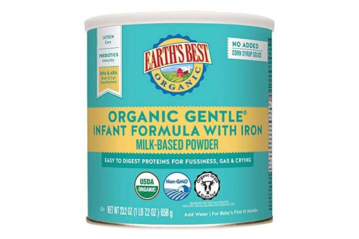 Earths Best Organic Gentle Infant Powder Formula