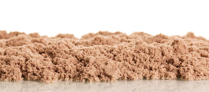 Edible Cornmeal Kinetic Sand