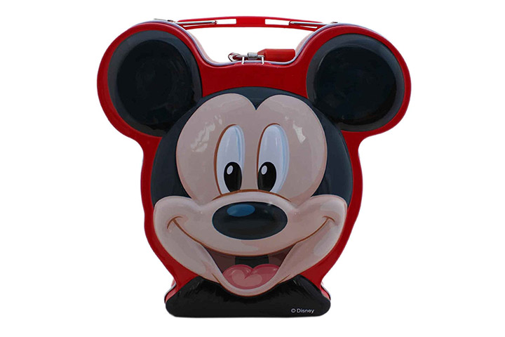 Generic Kids Mickey Mouse Cartoon Metal Piggy Bank