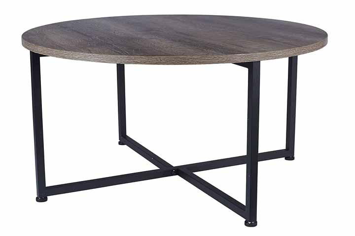 Household Essentials Round Coffee Table