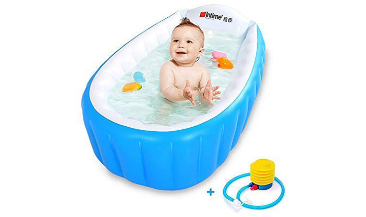 Intime PVC Portable Inflatable Bathtub