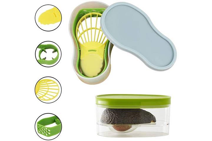 Kinsy 5-in-1 Multifunctional Avocado Tool Set