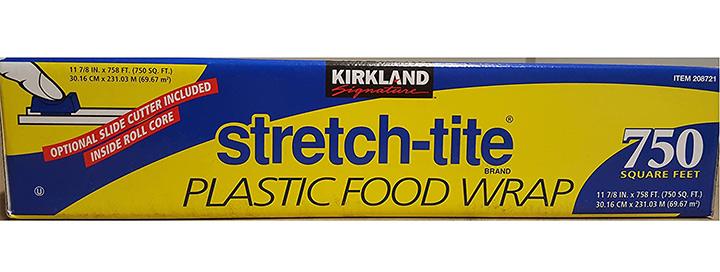 Kirkland Signature Stretch Tite Plastic Food Wrap